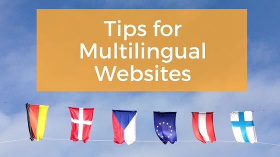Tips for Multilingual Websites