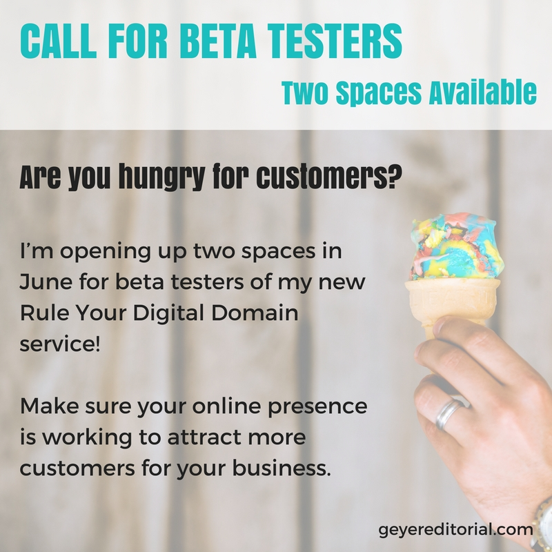 RYDD Call for Beta Testers